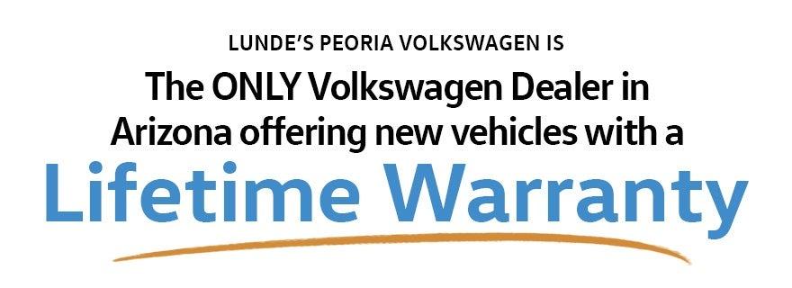 Peoria VW Lifetime Warranty | About Volkswagen Lifetime Warranty